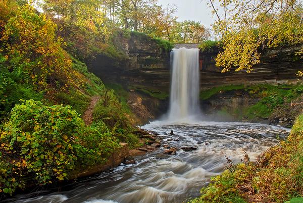 Minnehaha Falls Minneapolis, Minnesota